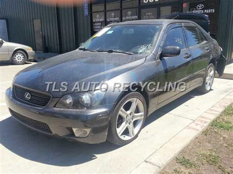 lexus is parts parting out 2004 lexus is 300 stock 3091rd tls auto