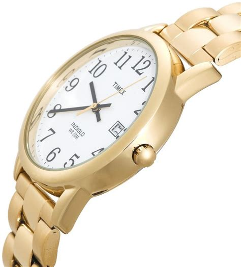 s gold watches store timex s t2n171 ez reader