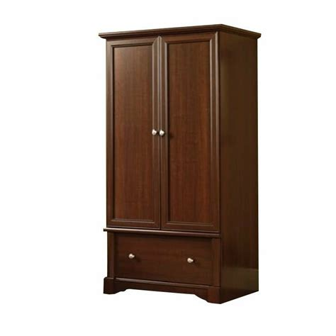 cherry wardrobe closet sauder palladia wardrobe armoire in cherry ebay