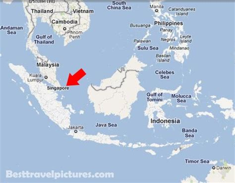 singapore map asia singapore best travel guides