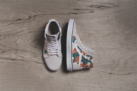 Vans Authentic Vintage Aloha vans vintage aloha summer 2015 pack sneaker bar detroit