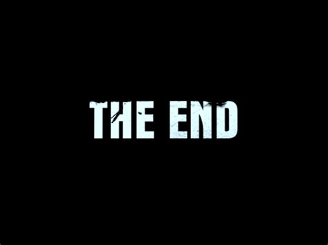 Or Ending The End Piccoli Paesi