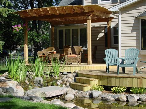 Patio Making Your Home More Refreshed Inspirationseek Com House Patio Designs