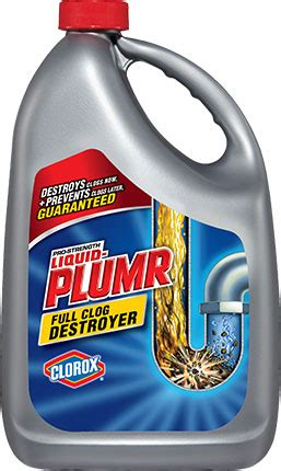 liquid plumr for kitchen sinks liquid plumr 174 clog destroyer for clogged sinks