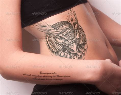 mockup for tattoo tattoo mock up pack01 woman body by top100team graphicriver