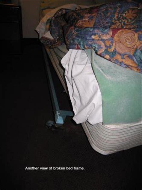 Broken Bed Frame Picture Of Budget Inn Suites At The Broken Bed Frame