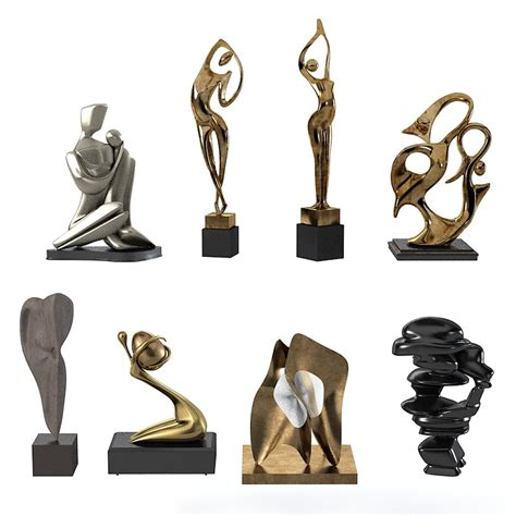 Sculptures Home Decor by 3d Modern Sculpture