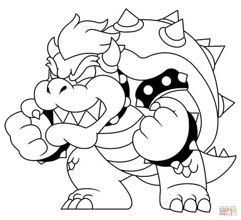coloring book vs of pablo bones bowser free coloring pages