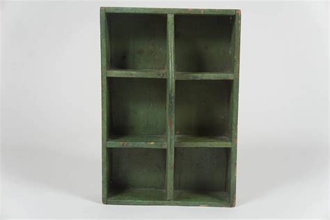 Hanging Box Shelf by Small Green Hanging Shelf Tool Box For Sale At 1stdibs