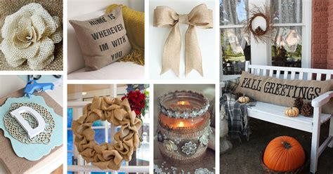 the greatest 30 diy decoration 25 best diy burlap decoration ideas and designs for 2018
