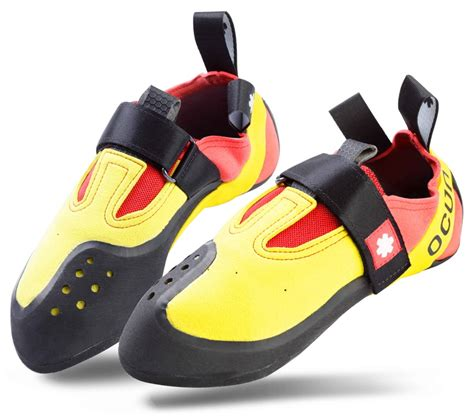 kid rock shoes ocun rival kid s rock climbing shoe uk 2 yellow