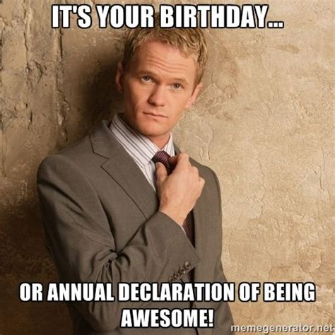 Memes About Being Awesome - 1000 ideas about funny happy birthday pictures on
