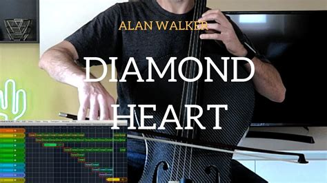 alan walker diamond heart album alan walker diamond heart for cello and loop station