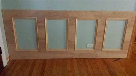 How To Make Wainscoting With Moulding how to make a recessed wainscoting wall from scratch