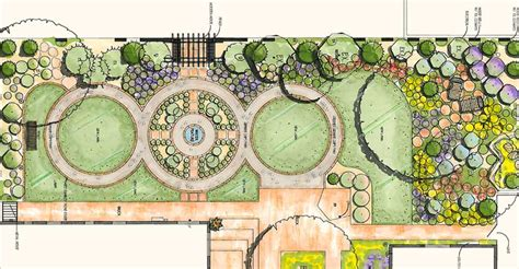 How To Design A Garden Layout Landscape Design Drawings Pdf
