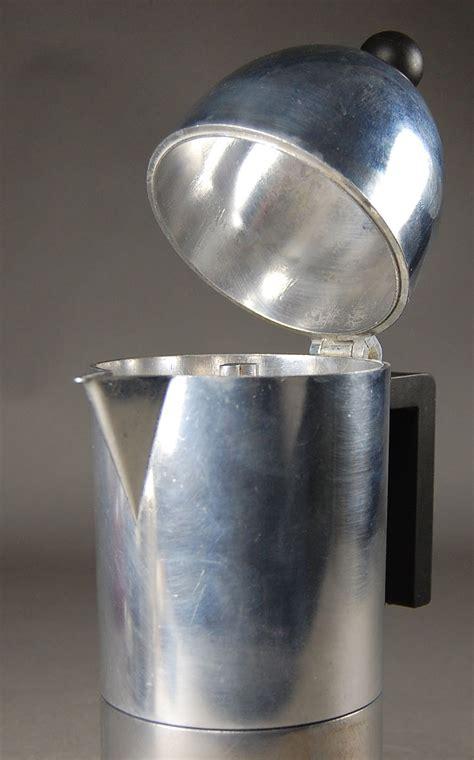 espressomaschine alessi alessi espressomaschine quot la cupola quot