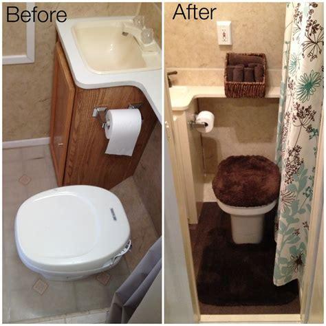travel trailer bathroom travel trailer remodel bathroom new tile flooring