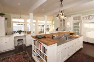 kitchen island ideas and designs freshome traditional shaped layout idea