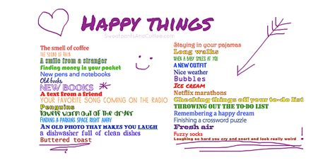 30 things to be happy about