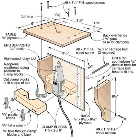 free woodworking plans and projects 25 best ideas about dremel router table on