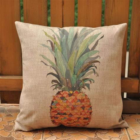 pineapple cushions home decor almofadas decorativas