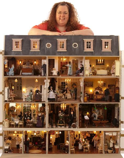dolls house miniatures dee daw designs home jt nice pic of the famous and fabulous featherstone hall hotel