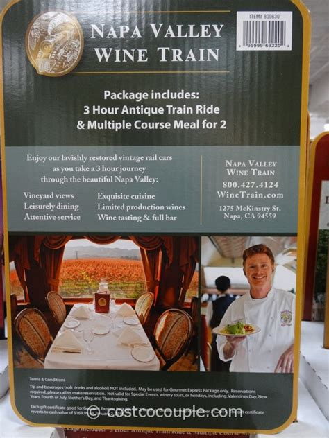 Napa Gift Cards - napa valley wine train discount gift card