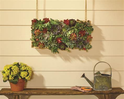 home depot vertical succulent garden