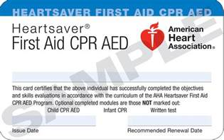 cpr card template 4 best images of free printable aid certificate