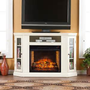 corner fireplace cabinet claremont wall or corner infrared electric fireplace media