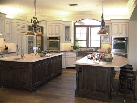 houzz kitchens with islands kitchen size and island sizes