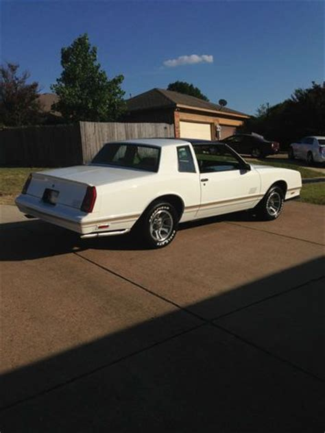 Purchase New 1986 Chevy Monte Carlo Ss Drag Car Street Car