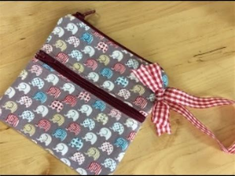 youtube zipper tutorial zippered wristlet sewing tutorial by debbie shore youtube
