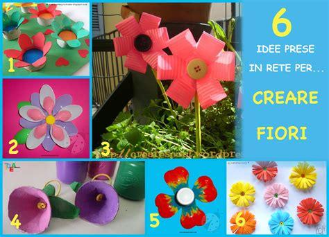 fiori con bicchieri di plastica homemademamma