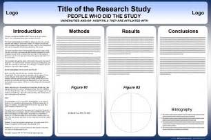 scientific poster presentation template free powerpoint scientific research poster templates for