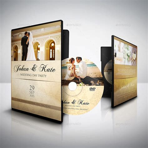 wedding dvd wedding dvd cover and label template bundle vol 1 by