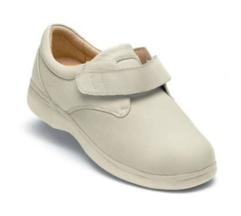sure fit shoes s626 4 dublin beige velcro sure fit therapeutic footwear