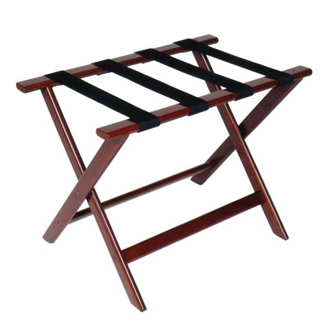 Wooden Luggage Rack by Csl 177cm 1 Luggage Rack W Black Straps Deluxe Wooden