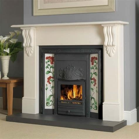 oxford solid fuel integra cast iron fireplace insert