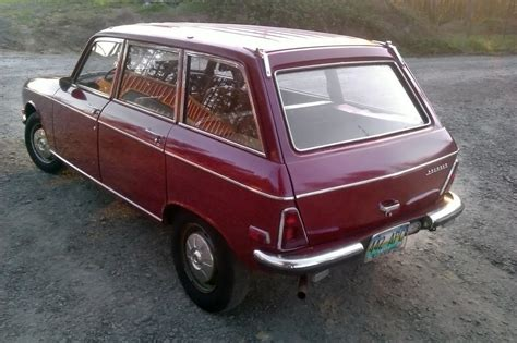 peugeot wagon little red wagon 1971 peugeot 304 wagon