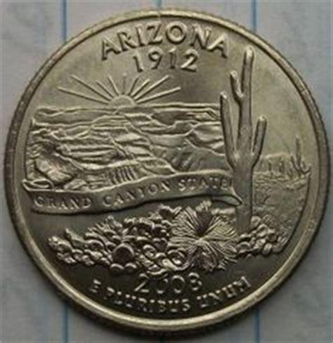 arizona state quarter broad strike error. obverse | coin