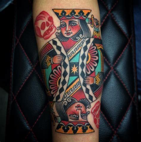 tattoo lucky queen 18 gambling tattoo designs ideas design trends