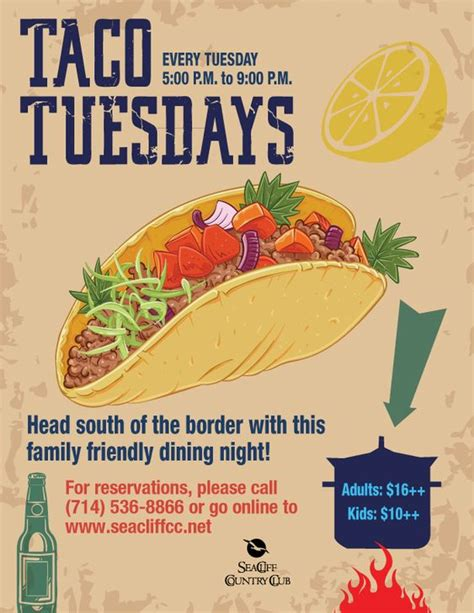 taco tuesday flyer related keywords taco tuesday flyer