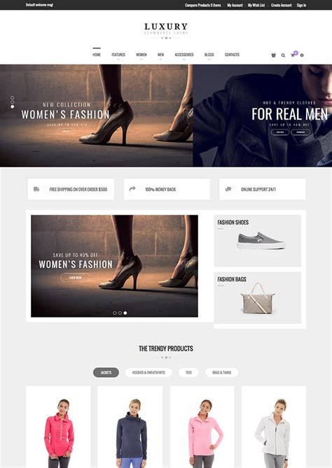 best magento templates 15 best ecommerce website templates trending in 2016