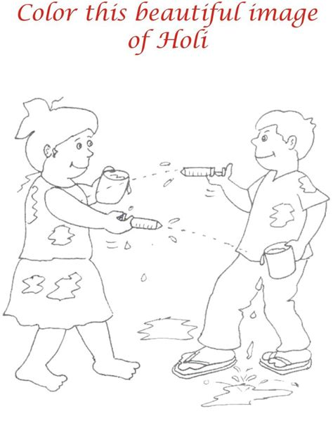 Pics For Gt Indian Festivals Holi Drawings Holi Colouring Pages