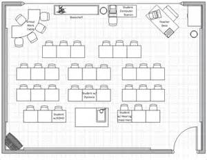 Floor Plan For Classroom portfolio myers rebecca portfolio classroom floor plan