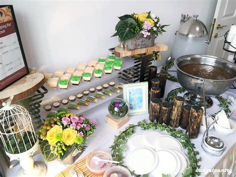 Elsie Kitchen Buffet Review Cbbturnsone Enchanted Forest Birthday Buffet Catering