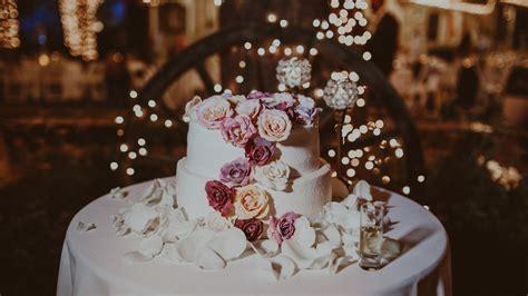 wallpaper wedding cake flowers  food