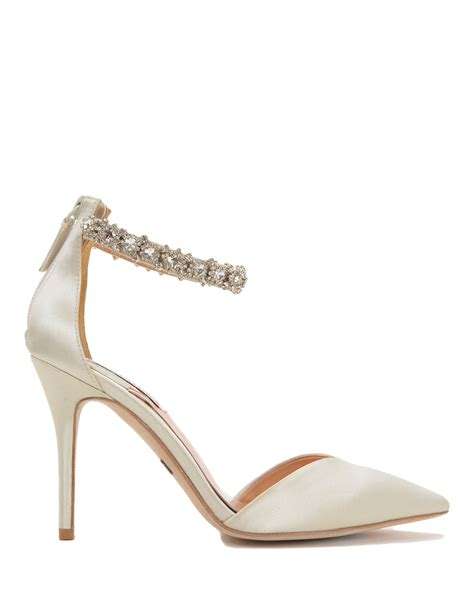 pointed high heels with ankle straps badgley mischka flash ankle pointed toe high heel in