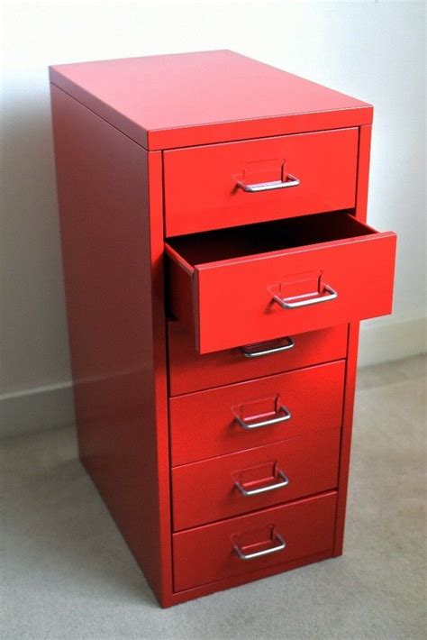 ikea helmer red drawer unit  watford hertfordshire gumtree